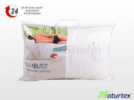 Naturtex Bambusz Basic memory párna 60x40x15 cm