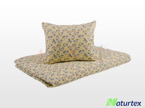 Naturtex 2 részes gyermek ágyneműhuzat - Sárga unikornis