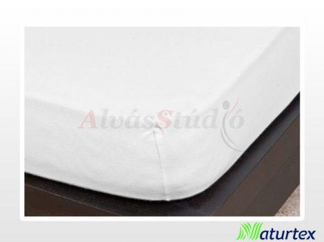 Naturtex Jersey gumis lepedő Fehér 180-200x200 cm