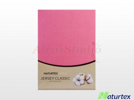 Naturtex Jersey gumis lepedő Matt rózsaszín  90-100x200 cm