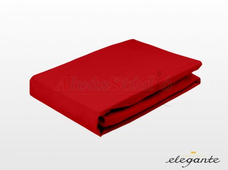 Elegante Jersey gumis lepedő Piros 90-100x200 cm