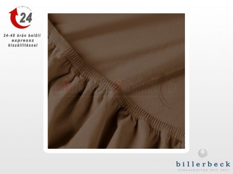 Billerbeck Rebeka Jersey gumis lepedő Brownie 180-200x200 cm