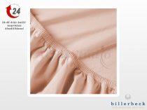 Billerbeck Rebeka Jersey gumis lepedő Epres krémes 140-160x200 cm