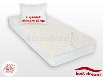 Best Dream Wool's matrac 200x220 cm AJÁNDÉK MEMORY PÁRNÁVAL KÉSZLET KIÁRUSÍTÁS - OUTLET -