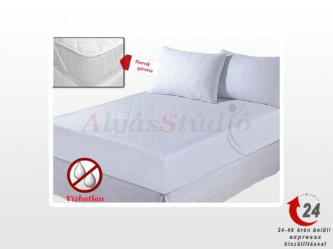 AlvásStúdió Comfort vízhatlan sarokgumis matracvédő  60x120 cm