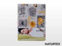 Naturtex 3 részes krepp ágyneműhuzat - Love Yellow