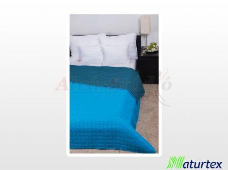 Naturtex Laura microfiber ágytakaró - türkizkék 235x250 cm