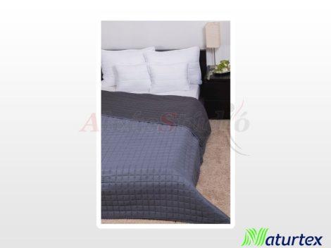 Naturtex Laura microfiber ágytakaró - világosszürke-sötétszürke 235x250 cm