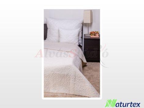 Naturtex Clara microfiber ágytakaró - bézs márvány steppelt 235x250 cm