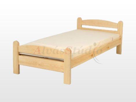 Kofa Monori - natúr fenyő ágykeret  90x200 cm