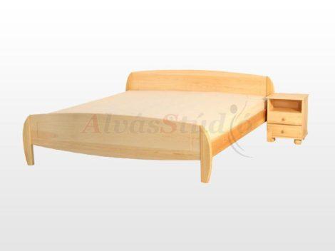 Kofa Ágnes - natúr fenyő ágykeret 160x200 cm