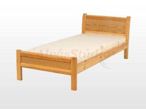 Kofa Perfekt - natúr fenyő ágykeret  90x200 cm