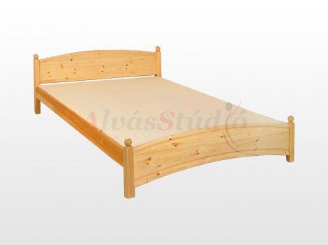Kofa Gombos - natúr fenyő ágykeret  90x200 cm
