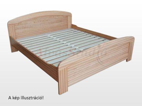 Kofa Mónika - natúr fenyő ágykeret 160x200 cm