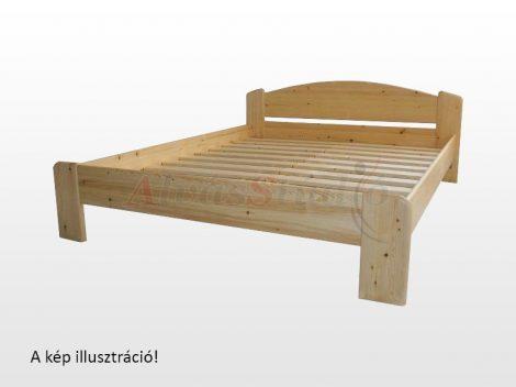 Kofa Róma - bükk ágykeret 160x200 cm