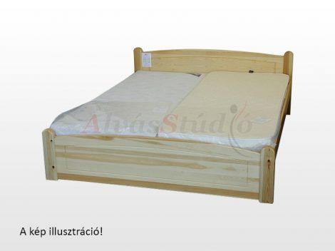Kofa Béci - bükk ágykeret 160x200 cm