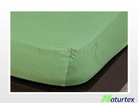 Naturtex Jersey gumis lepedő Olajzöld 180-200x200 cm