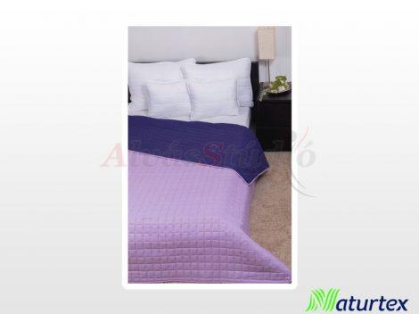 Naturtex Laura microfiber ágytakaró - lila-világoslila 235x250 cm