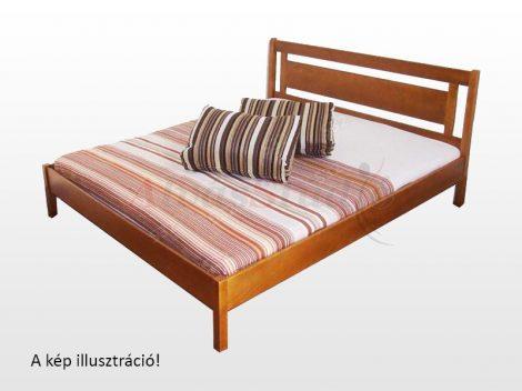 Kofa Rubint - natúr fenyő ágykeret  90x200 cm
