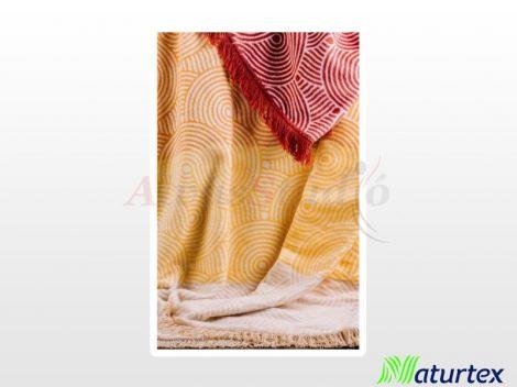 Naturtex pamut-akril pléd - Sunshine 150x200 cm