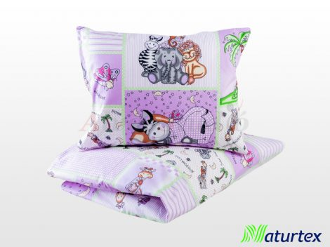 Naturtex 2 részes gyermek ágyneműhuzat - Állatkert