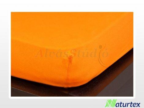 Naturtex Jersey gumis lepedő Narancs  90-100x200 cm