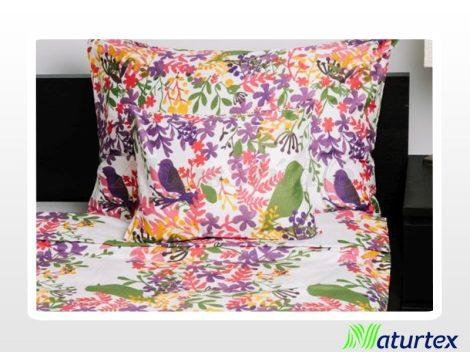 Naturtex 3 részes pamut-szatén ágyneműhuzat - Bird