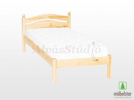 Möbelstar 309 - natúr fenyő ágykeret 90x200 cm
