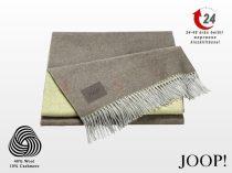 JOOP! Sensual-Doubleface taupe-kén pléd 130x180 cm