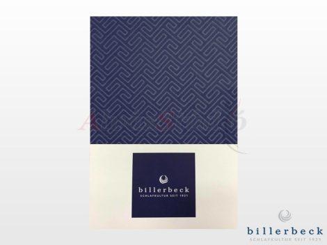 Billerbeck Bianka 3 részes pamut-szatén ágyneműhuzat - kék
