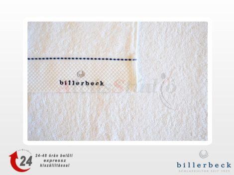 Billerbeck Optikai fehér törölköző rizs kötéssel 50x100 cm