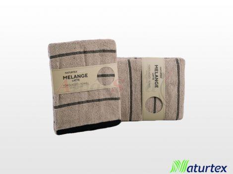 Naturtex Melange Latte törölköző 50x100 cm