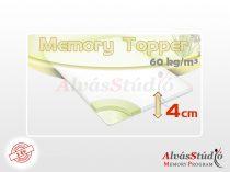 AlvásStúdió Memory fedőmatrac 4 cm magas