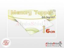 AlvásStúdió Memory fedőmatrac 6 cm magas