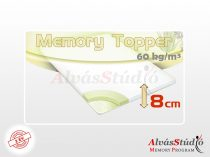 AlvásStúdió Memory fedőmatrac 8 cm magas