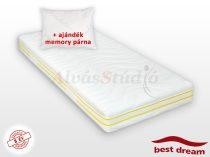 Best Dream Latex matrac AJÁNDÉK MEMORY PÁRNÁVAL