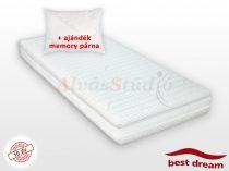 Best Dream Memory Bamboo matrac AJÁNDÉK MEMORY PÁRNÁVAL
