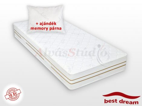 Best Dream Thermoclima matrac AJÁNDÉK MEMORY PÁRNÁVAL