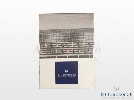 Billerbeck Bianka 2 részes pamut-szatén ágyneműhuzat - szürke