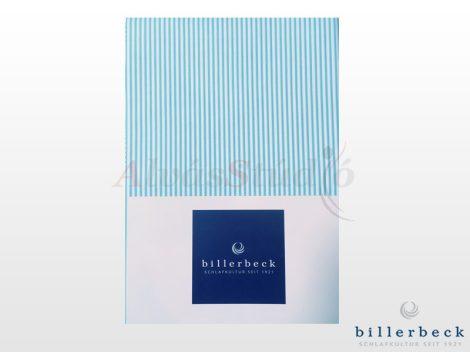 Billerbeck Bianka 3 részes pamut-szatén ágyneműhuzat - csíkos kék