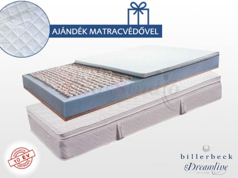 Billerbeck Monaco matrac viszkoelasztikus-PES padozattal
