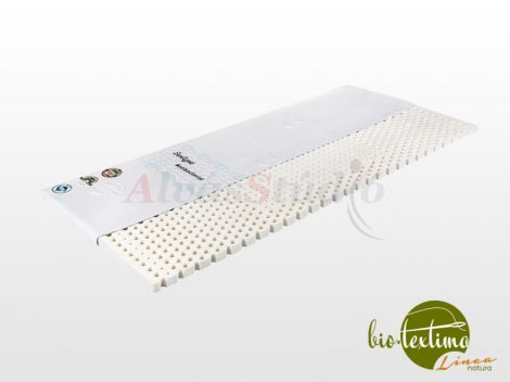 Bio-Textima Lineanatura Latex fedőmatrac 7 cm magas Sanitized huzattal