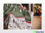 Naturtex pamut-akril pléd - Merry Christmas