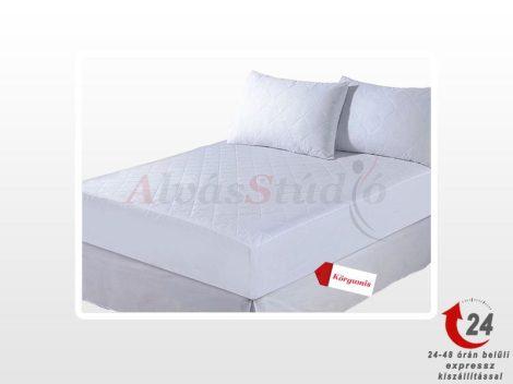 AlvásStúdió sorsteppelt körgumis matracvédő
