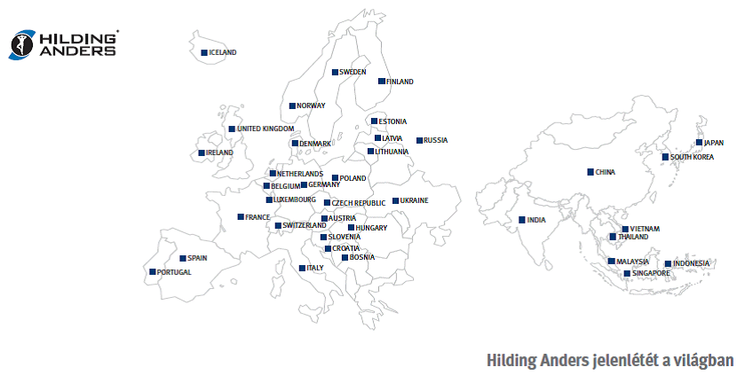 Hilding Anders Company Wordwide