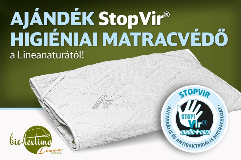 Ajándék StopVir matracvédő