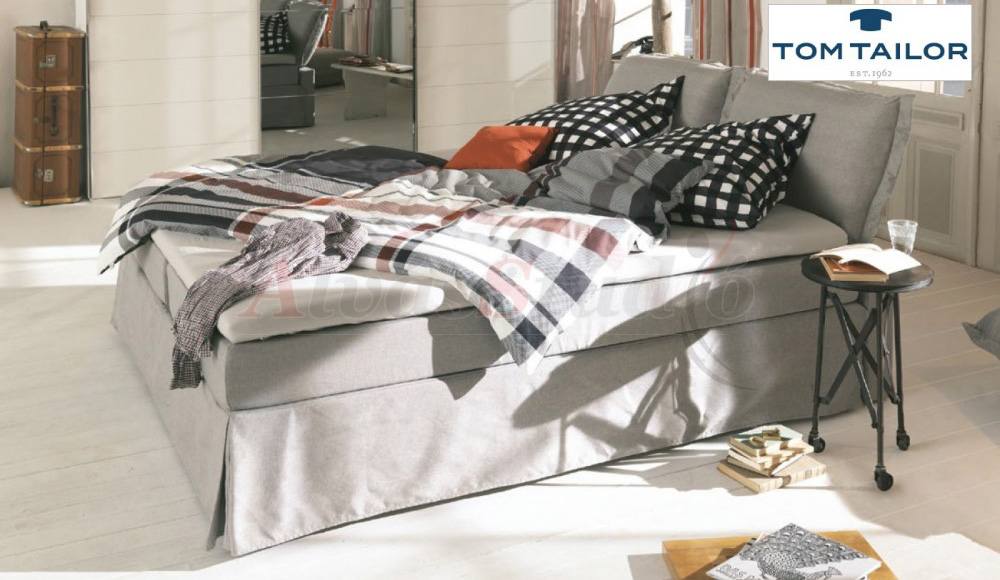 Tom Tailor Cushion Box kárpitozott boxspring ágy