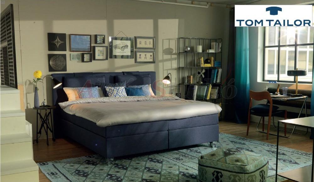 Tom Tailor Heaven Box kárpitozott boxspring ágy