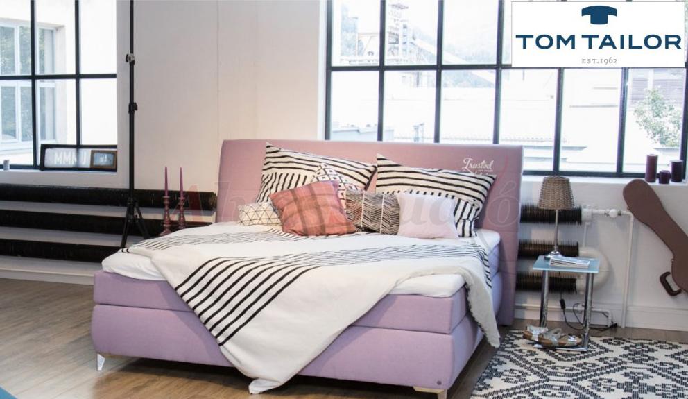 Tom Tailor Softlines Box kárpitozott boxspring ágy