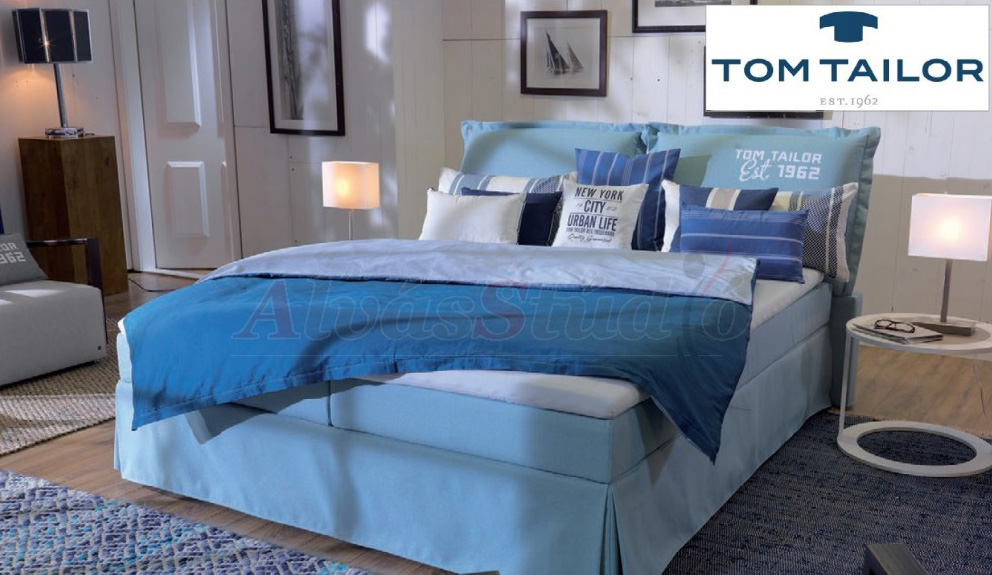 Tom Tailor XL Cushion kárpitozott boxspring ágy